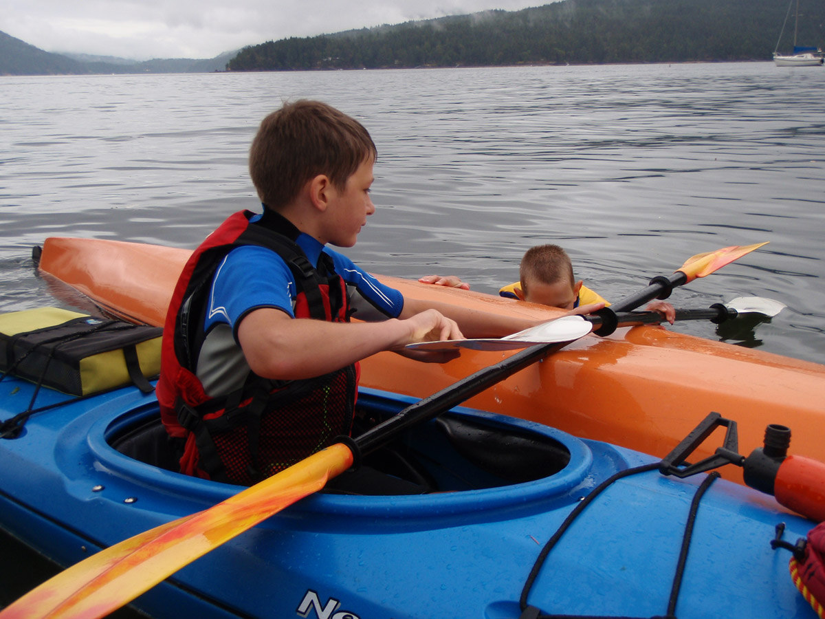YOUTH PADDLE INSTRUCTION